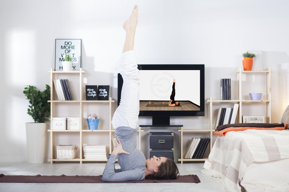 Yoga en ligne : 6 astuces pour lâcher-prise !