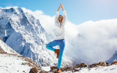Plus de sensations au ski ? Yoga !