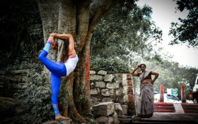 Origine : les postures de yoga