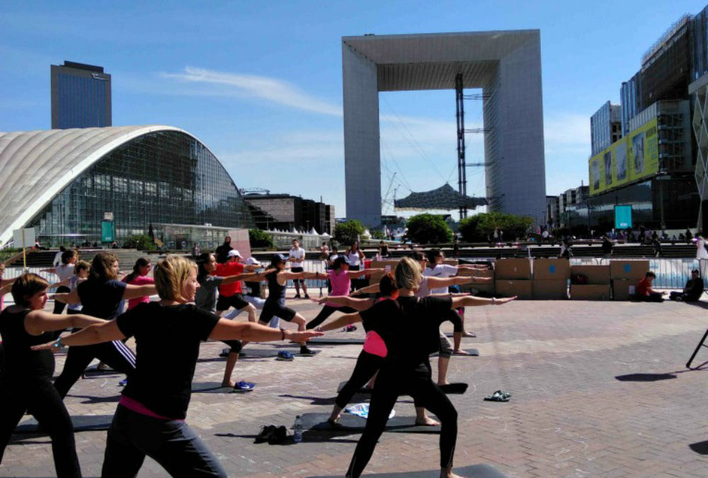 Yoga à la Défense Paris