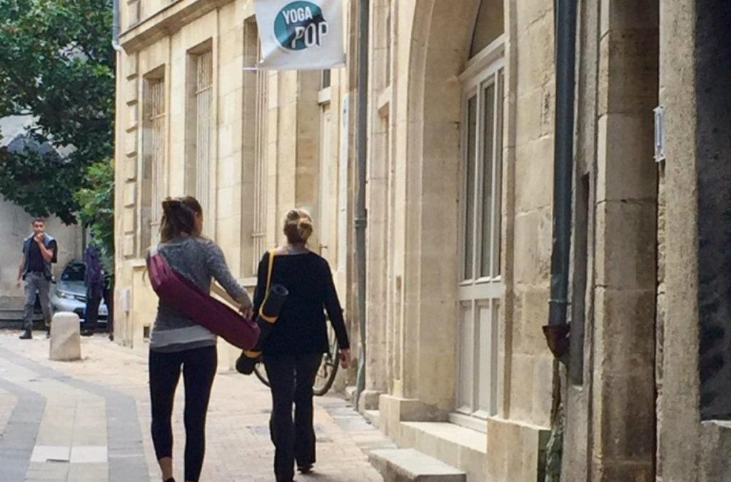 Nous avons testé le yoga à Bordeaux chez Yoga Pop